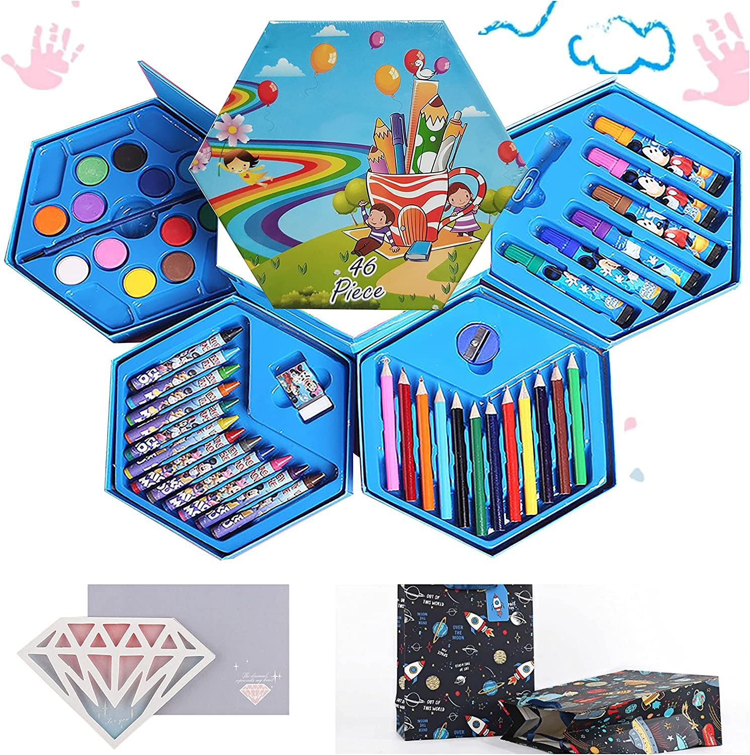 Great Birthday Gift Toys for Kids Craft and Set Kit Painting Art ...