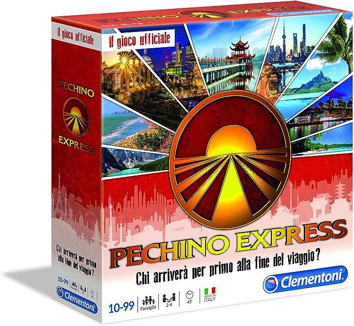 Gioco da tavolo-pechino express clementoni multicolore 16104 B07H5WQRNS