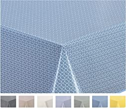 Dimensioni a Scelta Rotonda da Giardino Lavabile Rosso 100 cm Glatt Taupe Rettangolare BEAUTEX Taupe Liscia tovaglia Cerata Bianca a Pois PVC Punkte Wei/ß Ovale
