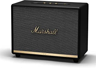 Marshall Woburn II Bluetooth Speaker, The Powerful Wireless Speaker, with Larger Than Life Customisable Sound, Black