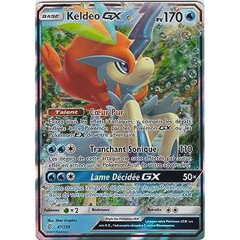 SL11:Harmonie Des Esprits Keldeo GX 47//236 Carte Pokemon Neuve Française
