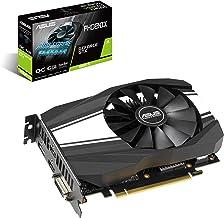 ASUS GeForce GTX 1660 TI 6GB Phoenix Fan Overclocked Edition VR Ready HDMI DP DVI Graphics Card (PH-GTX1660TI-O6G) (Renewed)