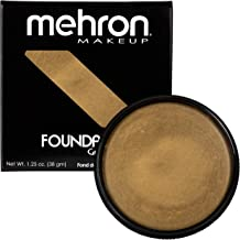 Mehron Makeup Foundation Greasepaint (1.25 ounce) (Gold)
