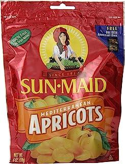 Sun Maid Mediterranean Apricots Pouches, 6 Ounce