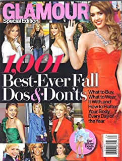 Glamour Magazine: Special Edition 1,001 Best-Ever Fall Dos and Donts [Single Issue Magazine]