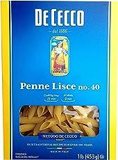 De Cecco Pasta, Penne Lisce, 16 Ounce