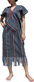 Ladies Hmong Thai Hill Tribe Single Piece Outift Poncho Throwover Top