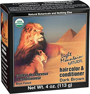 Light Mountain Natural Organic 3 Piece, Dark Brown
