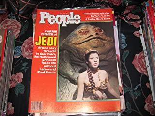 People Weekly (CARRIE FISHER...JEDI..STAR WARS...Life Without Leia & Paul Simon, June 6 , 1983)