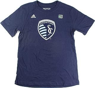 adidas Graham Zusi Sporting Kansas City #8 Youth Player Name & Number T-Shirt Navy