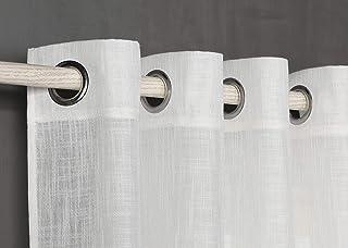 PimpamTex – Cortina Semi Translúcida para Salón,
