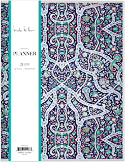 Nicole Miller for Blue Sky 2019 Monthly Planner, Flexible Cover, 8.5