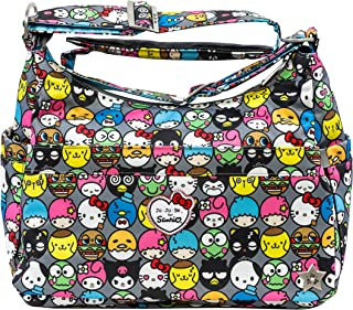 JuJuBe HoboBe Purse Diaper Bag, Hello Kitty Collection - Hello Friends
