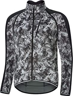 Gore Wear 男式 C3 Windstopper Phantom 2 合 1 拉链夹克 - Terra 灰色迷彩/黑色,XL 码
