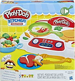 Play-Doh Kitchen Creations Sizzlin` Stovetop