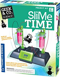 Thames & Kosmos Thames and Kosmos   Slime Time   550001   Build an Electro-Goop Powered Clock   Project Kit   STEM   Educa...