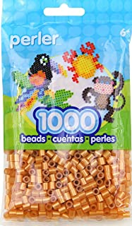 Bulk Buy: Perler Beads 1,000 Count Gold (3 Pack)