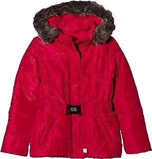 rote jacke mit fellkapuze