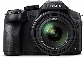 Panasonic Lumix DMC-FZ300 - Cámara Bridge de 12.1 MP (Zoom de 24X Objetivo F2.8 de 25-600 mm Estabilizador Óptico 4K Sellada contra Polvo y Salpicaduras) Color Negro