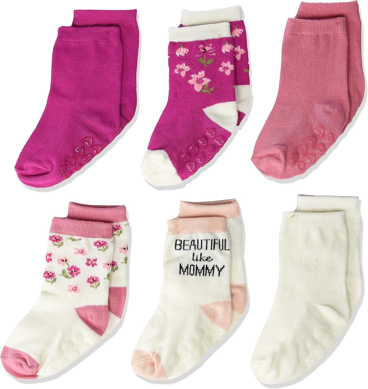 The Children's Place baby-girls Flower Midi Socks 6-pack