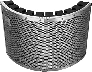 Neewer Portable Microphone Acoustic Isolation Shield with Lightweight Metal Alloy, Acoustic Foams, Mounting Brackets and Screws for Mic Stand with 5/8