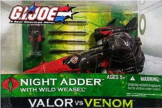 G.I. Joe Valor vs. Venom Cobra Night Adder with Wild Weasel Action Figure Vehicle Playset