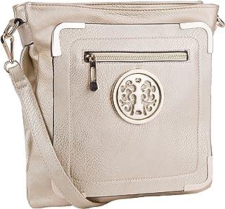 Mia K. Farrow MKF Collection Courier Fun to Wear Crossbody Bag
