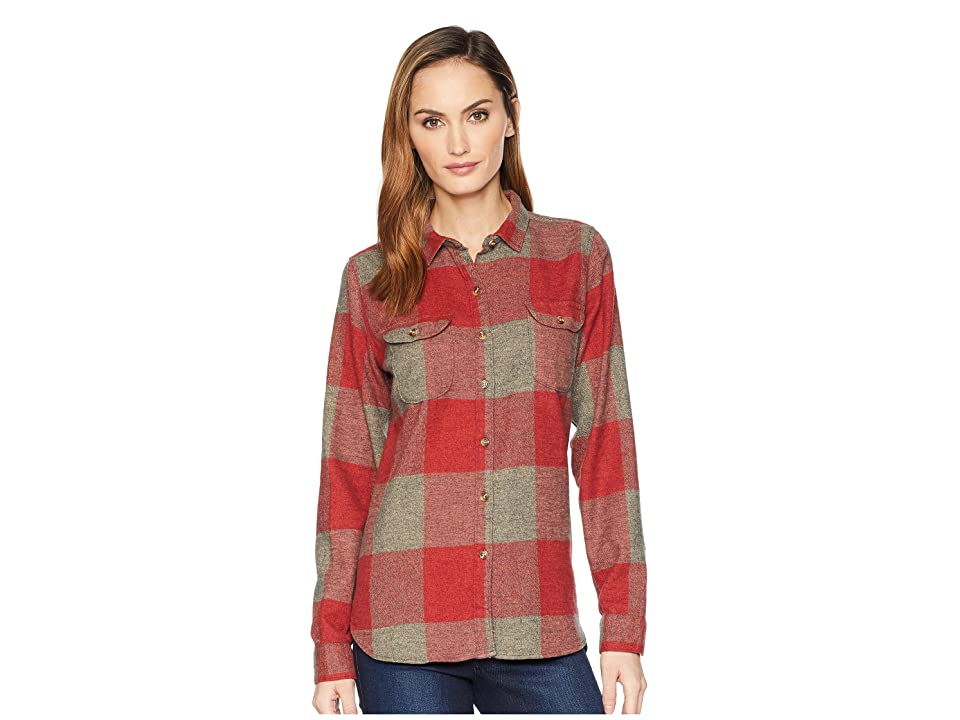 Woolrich Eco Rich Twisted Rich Flannel Shirt II (Tamarind Check) Women