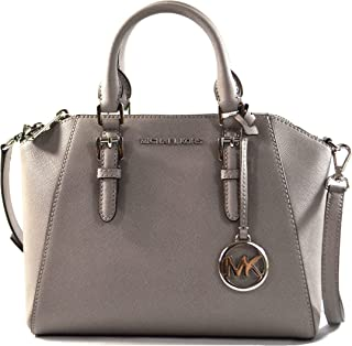 Ciara Medium Saffiano Leather Messenger Bag