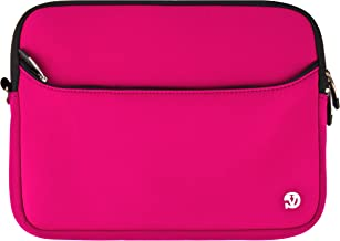 Magenta VG Neoprene Sleeve Cover for Microsoft Surface Windows RT 10.6-inch ClearType HD Display Tablet (32GB 64GB) + SumacLife Wisdom Courage Wristband