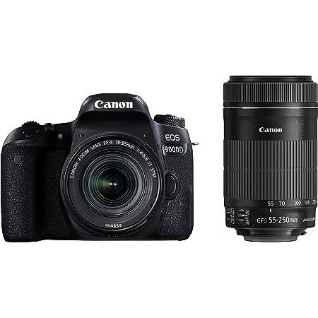Canon デジタル一眼レフカメラ EOS 9000D ダブルズームキット EF-S18-55mm/EF-S55-250mm 付属 EOS9000D-WKIT