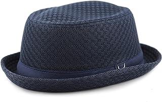 c9588a5b745dd9 THE HAT DEPOT Unisex Light Weight Classic Soft Cool Mesh Pork Pie hat