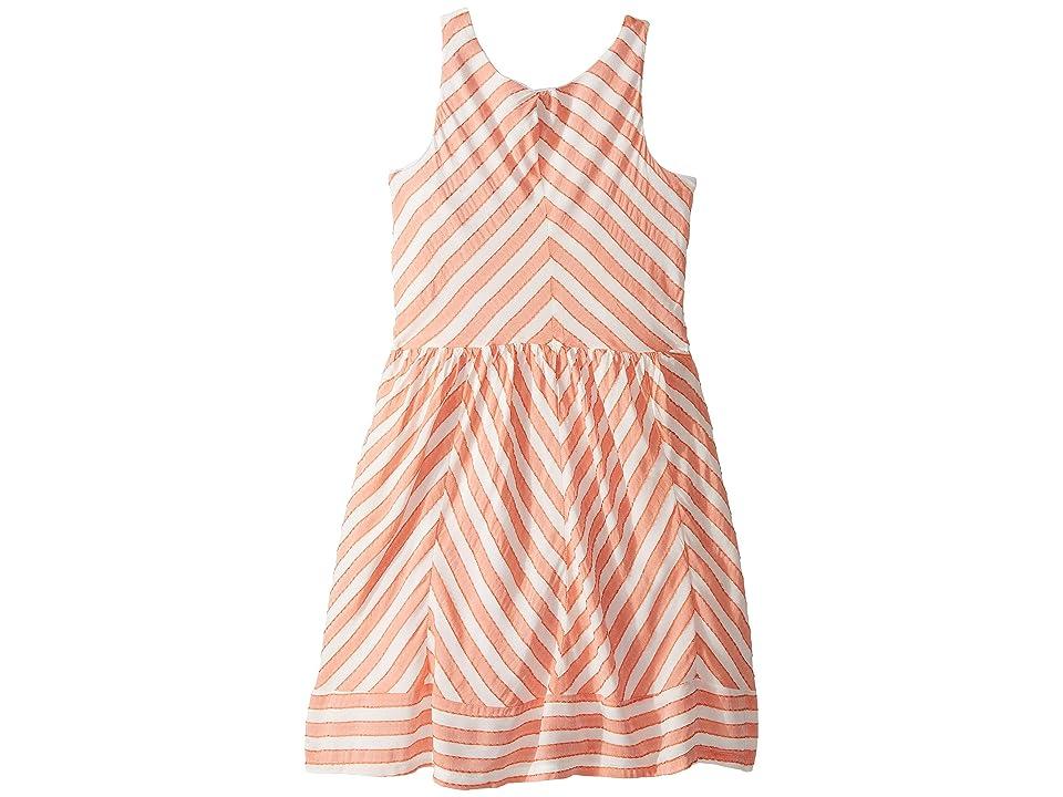 fiveloaves twofish Moanni Dress (Little Kids/Big Kids) (Orange) Girl