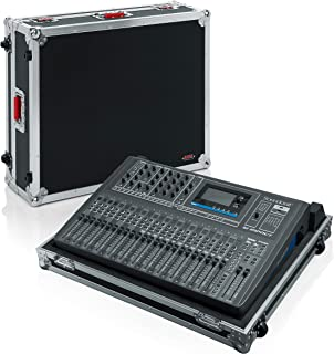 Gator Cases G-TOUR ATA Style Road Case - Custom Fit for Soundcraft Si Impact Digital Mixer with Heavy Duty Hardware, Built in wheels, and Tow Handle; (G-TOURSIIMPACTNDH)