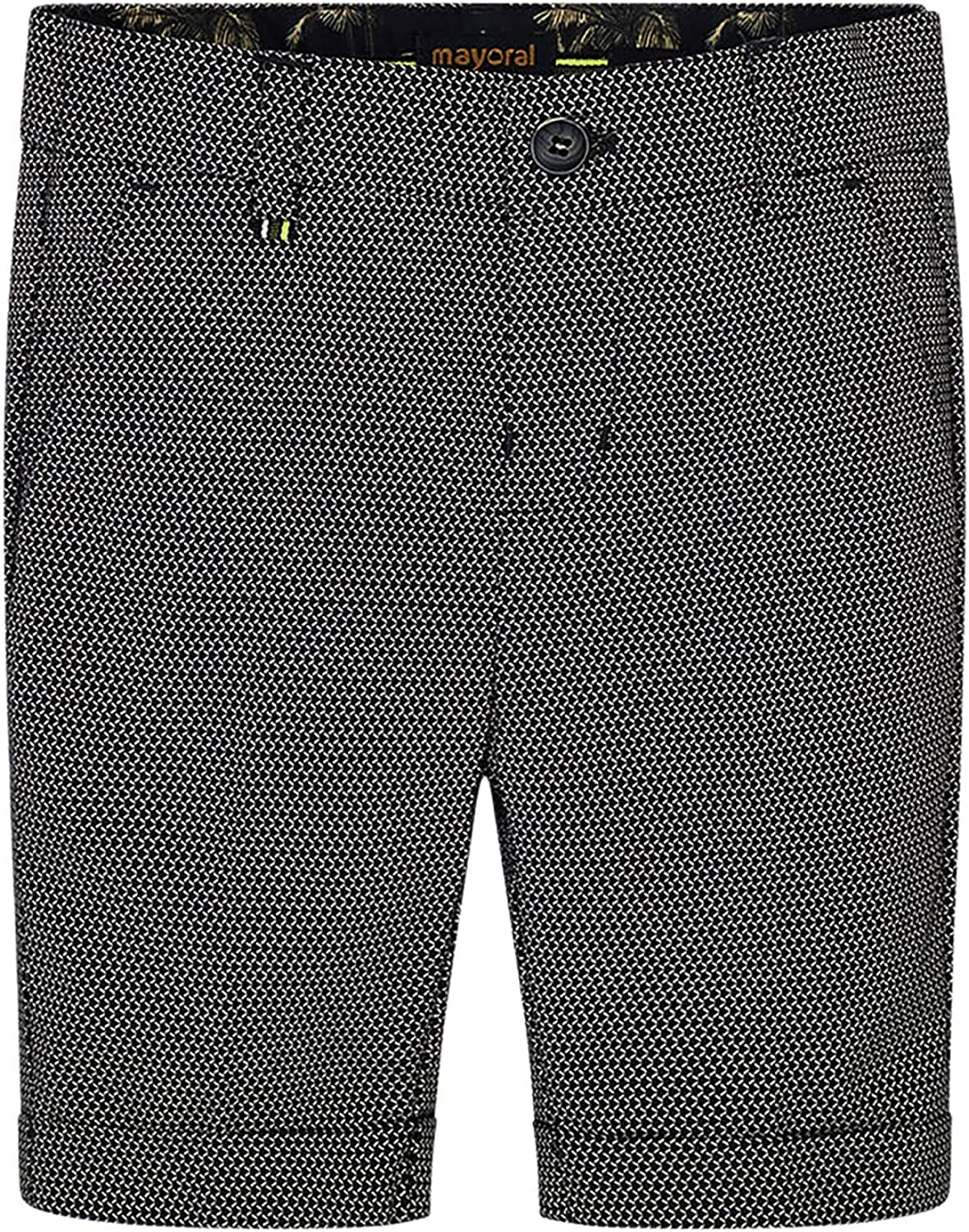 Mayoral - Tailored Linen Shorts for Boys - 3225, Printed