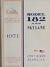 Cessna 1971 Model 182 and Skylane Owner's Manual