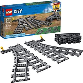 LEGO City Switch Tracks 60238 Building Kit (6 Pieces)