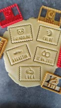 Emporte-pièce petit beurre - 50 motifs au choix + texte personnalisable | Conçu et fabriqué en France
