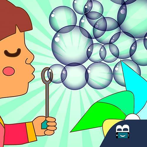 Soplar burbujas y molinete