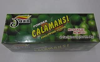 Juan Powder Calamansi Philippine Lemon 48 Sachets in a Pack Net Wt. 96g