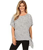 MICHAEL Michael Kors - Graphic Scale Tie Top