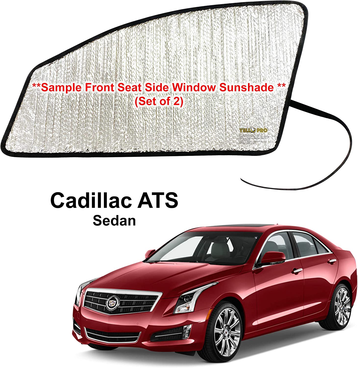 Side Window Front Seat Reflective Sunshade Fit for Genuine Free Shipping 2013 2 Genuine Free Shipping Custom