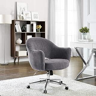 Serta Valetta Dovetail Gray Home Office Chair