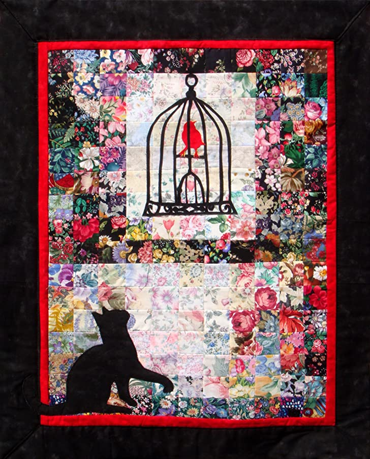 Whims Watercolor Quilt Kits Red Bird Retreat Quilting Supplies
