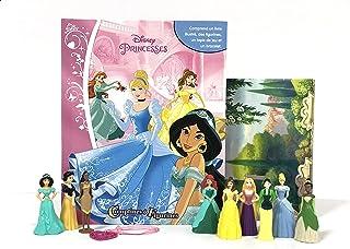 Phidal Disney Princesses Comptines et Figurines, Français, Multicolore