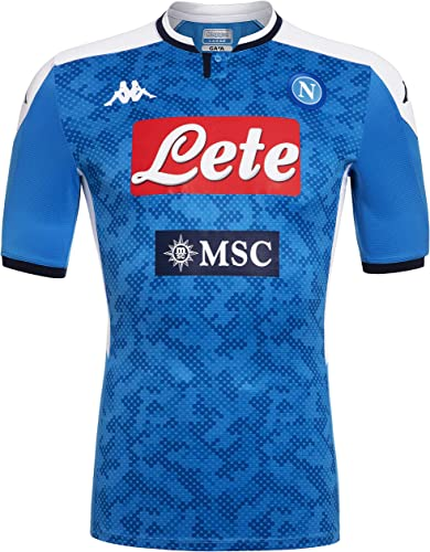 SSC Napoli Maillot Match Domicile 2019 2020