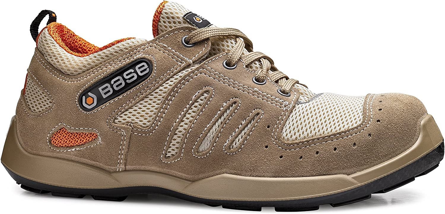 Base BO626 Spin S1P SRC Mens Safety Laced Trainer - 40 EU