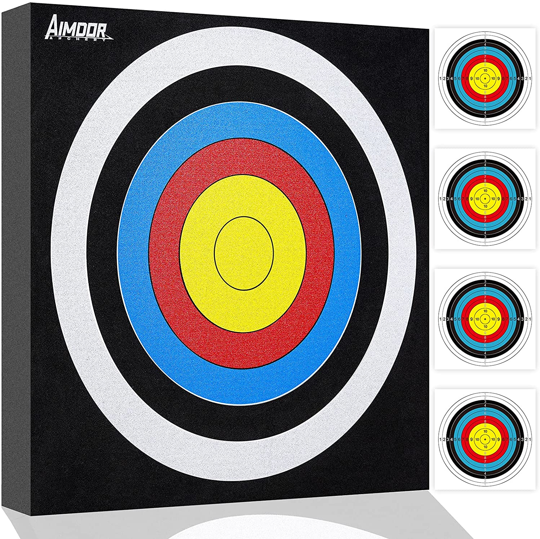 Aimdor Archery Target EVA Foam Target Arrow Target Square Moving Target Youth Archery Arrow Target Practice Target Hunting Target : Sports & Outdoors