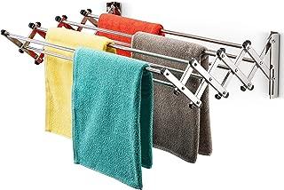 drying rack on wall