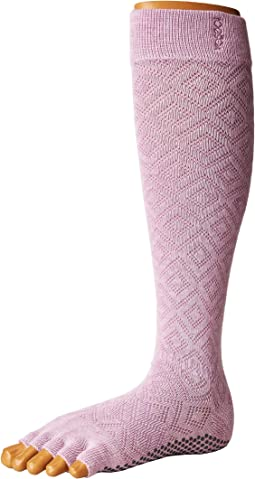Scrunch Knee High Half Toe w/ Grip